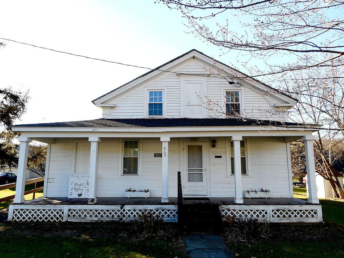 Phillip Paul Bliss House - Wikipedia