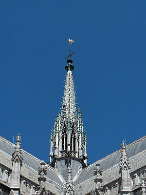 Pinnacle - Pinnacle, Sint-Petrus-en-Pauluskerk, Ostend, Belgium