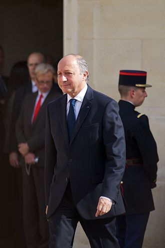 Constitutional Council (France) - Laurent Fabius, current President of the Constitutional Council