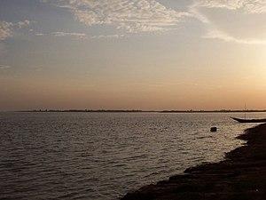 Padma river, Rajshahi, Bangladesh.