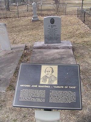Antonio José Martínez - The grave of Father Martínez