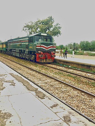 Pakistan Railways - Pakistan Railways Locomotive train