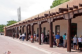 Palace of the Governors Santa Fe.JPG