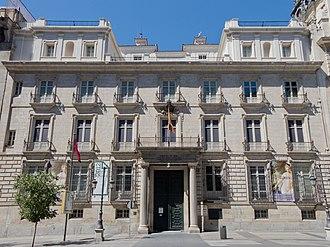 Real Academia de Bellas Artes de San Fernando - Image: Palacio de Goyeneche Real Academia de Bellas Artes de San Fernando