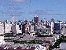 Uruguay-Economia-Palacio municipal a lo lejos