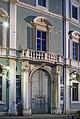 Palazzo Martinengo Colleoni di Malpaga portale notte Brescia.jpg