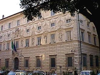 Palazzo Spada - Facade of the Palazzo Spada.