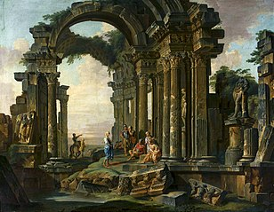 Architectural Capriccio with Roman Ruins