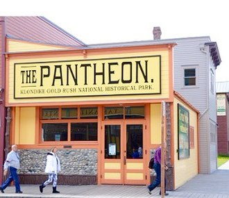 Klondike Gold Rush National Historical Park - Younger visitors can earn their Junior Ranger badge at the restored Pantheon
