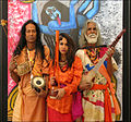 Papia Das Baul (middle), Haradhan Das Baul (left), Biswanath Das Baul (right) photo by Aleš Lang.jpg
