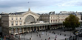railway station in Paris, France