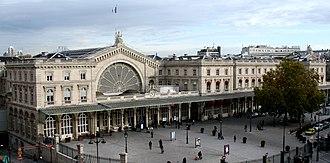 Gare de l'Est - Entrance