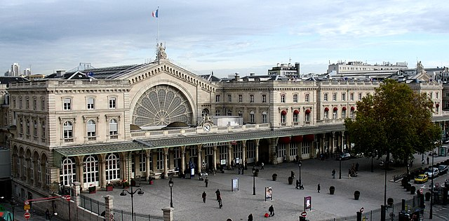 železničná stanica Paris Gare