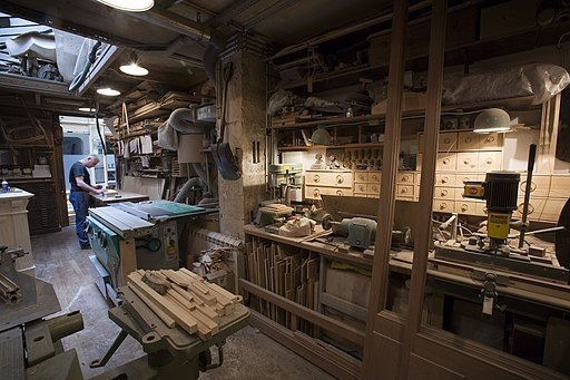 Paris - Carpenter workshop - 4944
