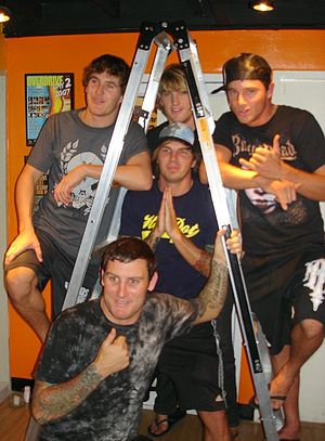 Parkway Drive - Parkway Drive in Bangkok in 2009
