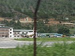 Paro Airport from outside the fence, July 2016 01.jpg