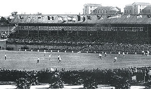 Parque Pereira - The stadium during the 1917 South American Championship.