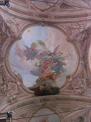 Busto Arsizio - Paintings in St. John the Baptist church.