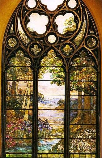 Second Presbyterian Church (Chicago) - Image: Pastoral Window