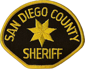 San Diego County Sheriff's Department - Image: Patch of the San Diego County Sheriff's Department