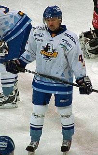 Patrik Martinec Czech ice hockey player and coach