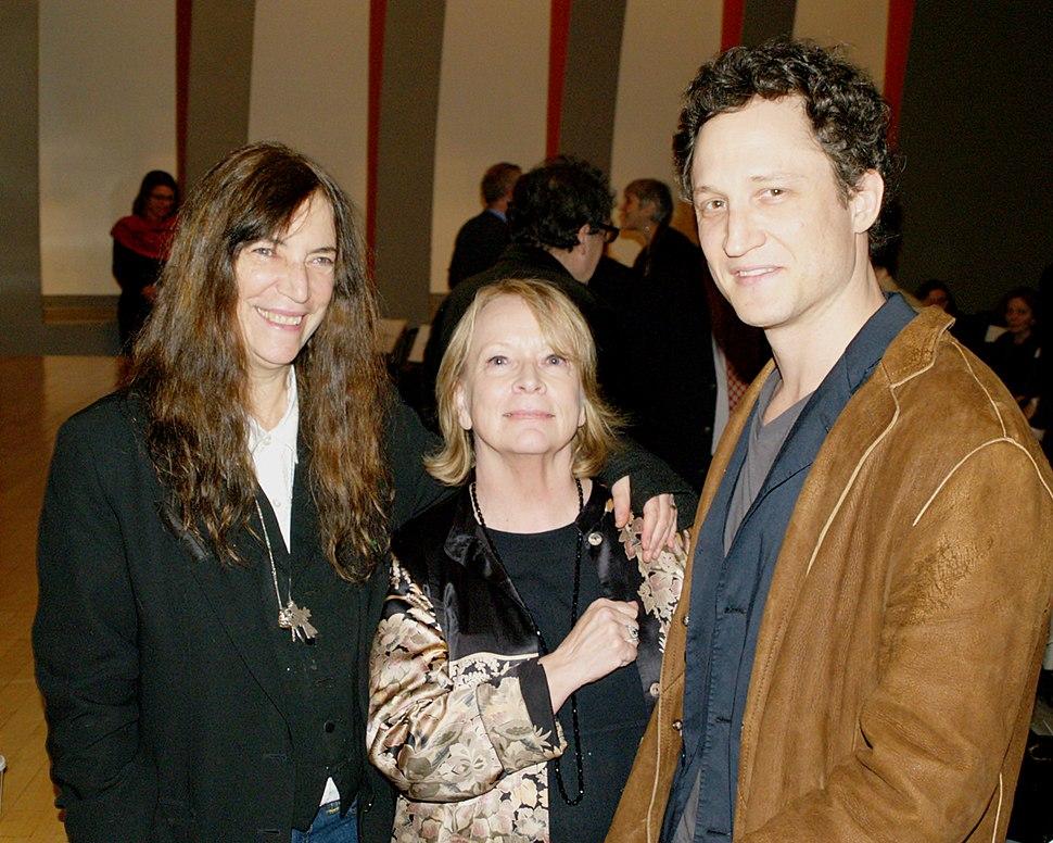 Patti Smith Jane Ciabattari John Reed 2 2011 Shankbone