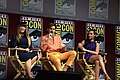 Patty Jenkins, Chris Pine & Gal Gadot at the 2018 Comic-Con International 3.jpg