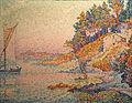 Paul Signac-La calanque.jpg