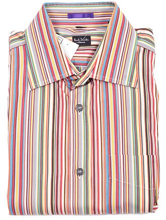 Paul Smith (fashion designer) - A striped shirt designed by the Paul Smith company.