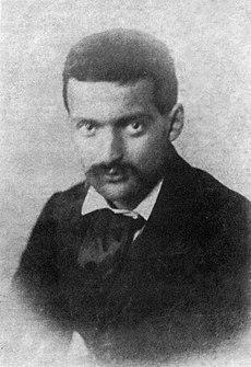 Paul Cézanne, hacia 1861