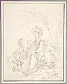 Peasant Girl Riding an Ox with Companions MET DP805479.jpg