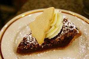 Pecan pie at Arnaud's Restaurant, New Orleans