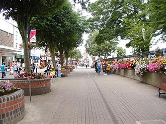 Coleraine - A pedestrian area in Coleraine