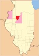Peoria County Illinois 1826