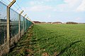 Perimeter fence around Alconbury airfield - geograph.org.uk - 757090.jpg