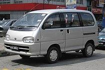 Perodua Rusa (first generation, first facelift) (front), Kajang.jpg