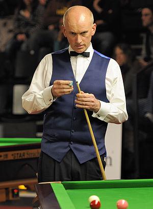Peter Ebdon - Peter Ebdon at the 2014 German Masters