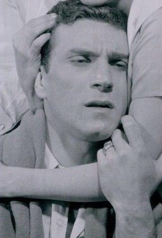Peter Mark Richman - Richman in Michael V. Gazzo's play A Hatful of Rain (1957 publicity still)