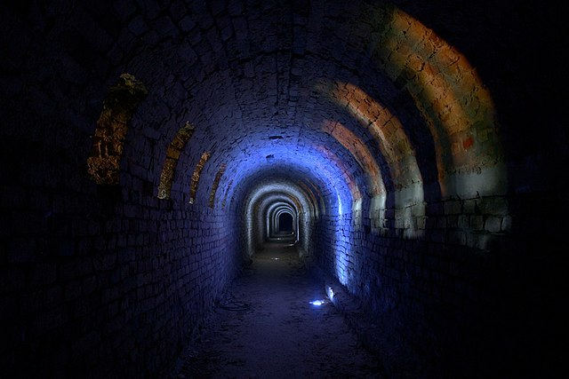 The underground of the Petrovaradin Fortress, Aleksandar Miskov