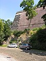 Pevnost Vyšehrad - hradby.JPG