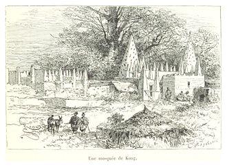 Kong, Ivory Coast - Image: Pg 313 Une Mosquée de Kong