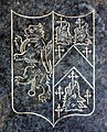 Phelpes coat of arms, Chacely church - geograph.org.uk - 1394667.jpg