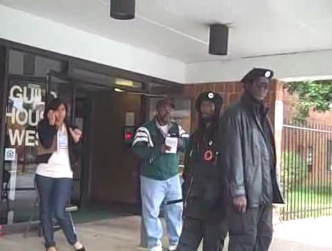 Philadelphia polling place security patrols 2008