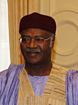 Philemon Yang, Prime Minister of Cameroon in London, 21 June 2010. (4720521915) cropped.jpg