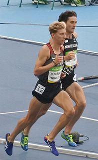 Julian Matthews New Zealand middle-distance runner
