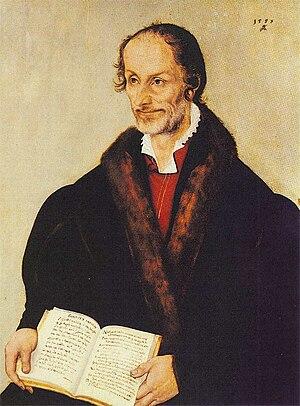 Philipp Melanchthon von Lucas Cranach d. J. - 1559.jpg