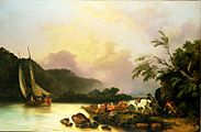 Philippe J. Loutherbourg - Belle Isle, Windermere, in a Calm.jpg