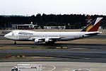 Philippine Airlines Boeing 747-283B (EI-BZA-22496-540) (26042208175).jpg