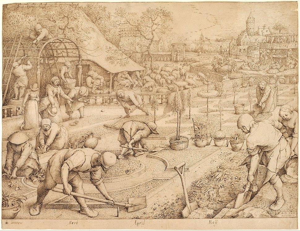 Pieter Bruegel the Elder - Spring, 1565 - Google Art Project