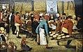 Pieter Brueghel de Jonge (1564of65-1638) Bruiloftsmaal in de schuur - MSK Gent 25-4-2018.JPG